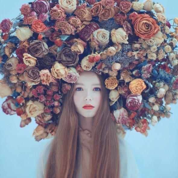 Emotive portraits fleurs de saison automne Oleg-Oprisco