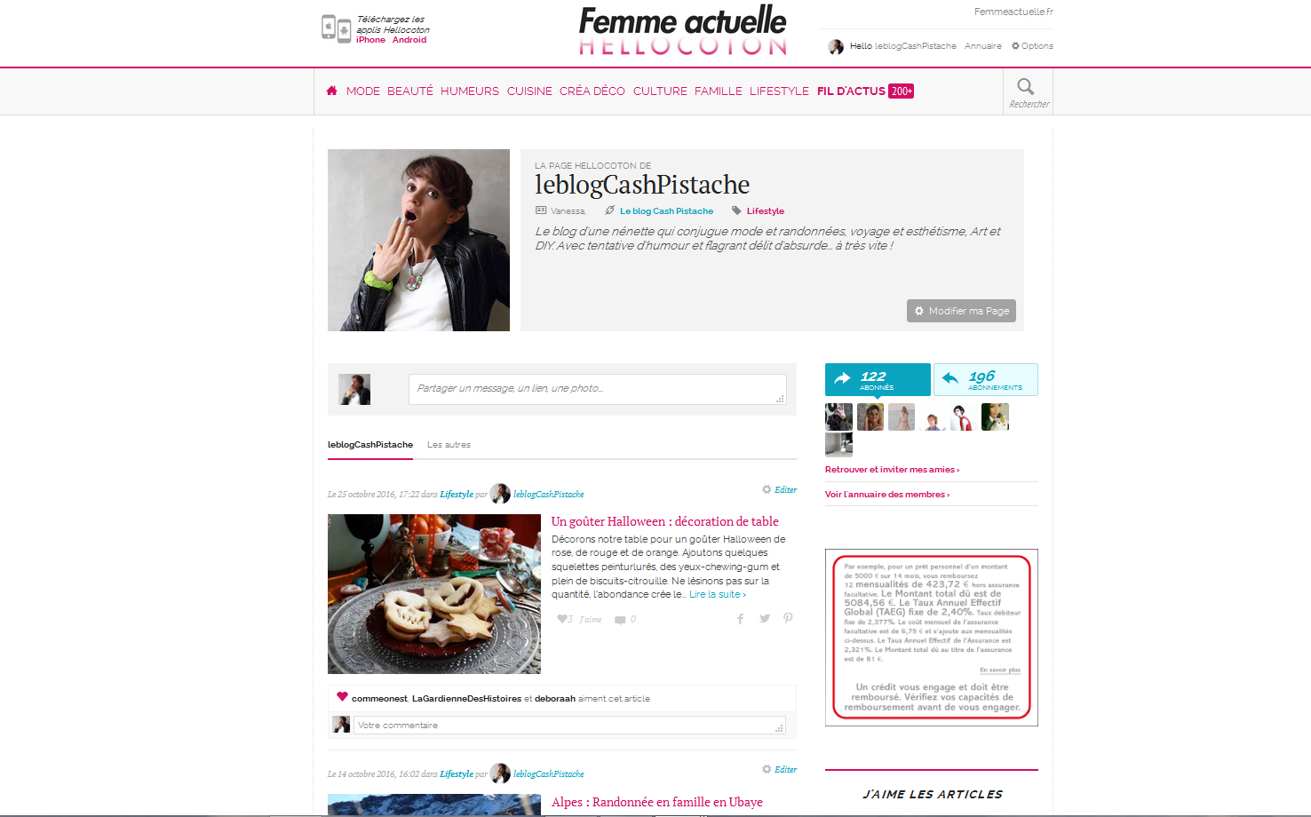 Hellocoton publications presse