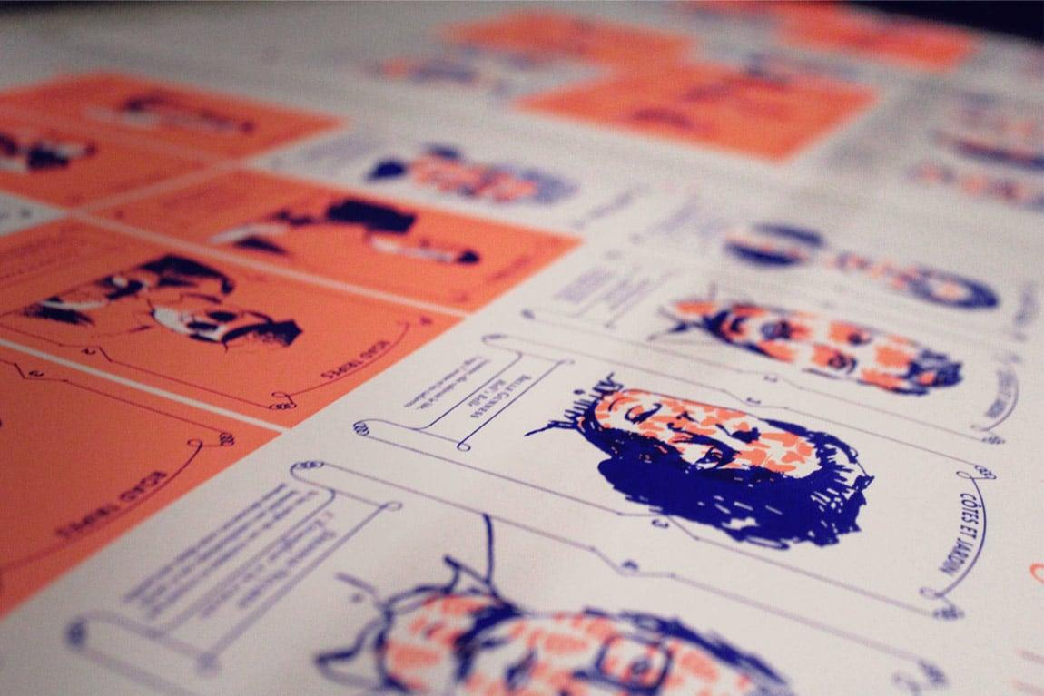 jeu des 7 familles planches imprimées