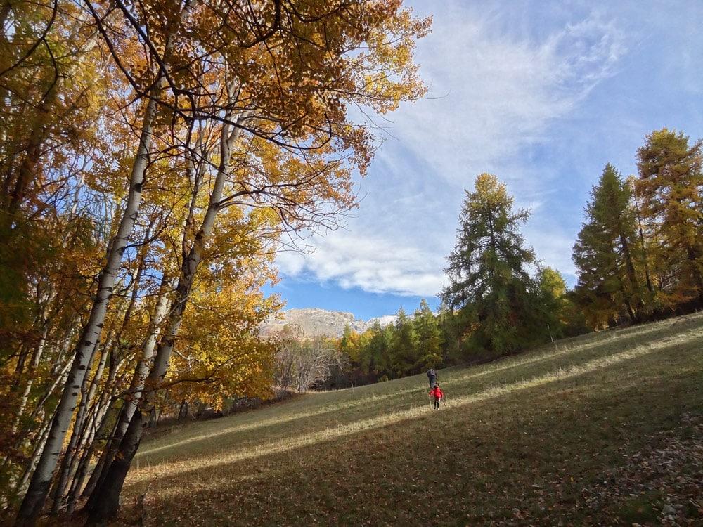 randonnées en montagne au Sauze