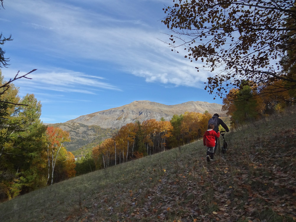 gosses en randonnées montagne