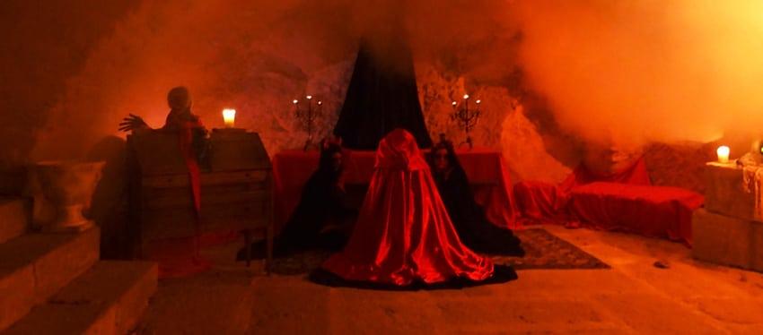 fête macabre au chateau de la barben halloween