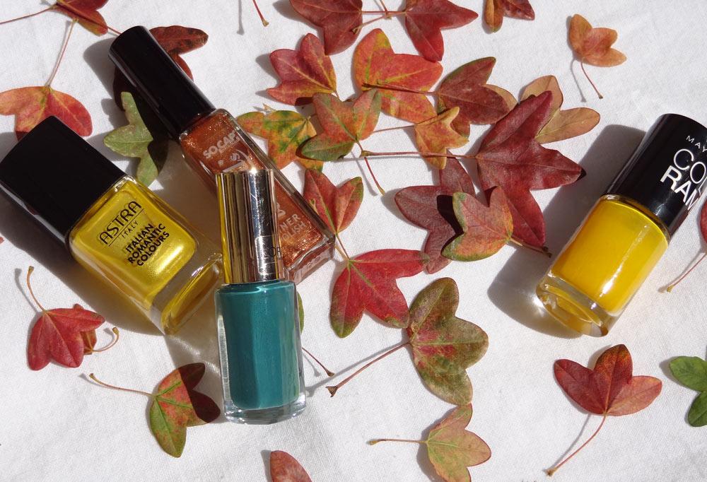 quels vernis d'automne
