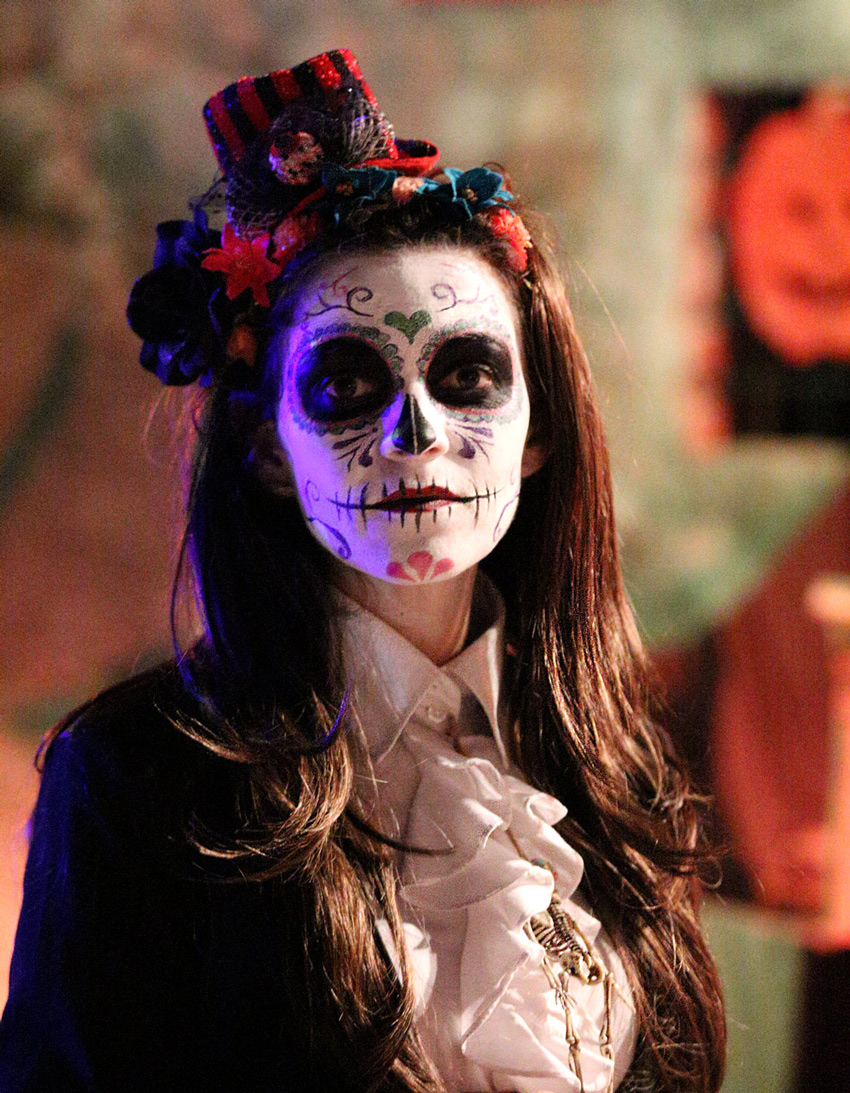dia de los muertos halloween chateau barben