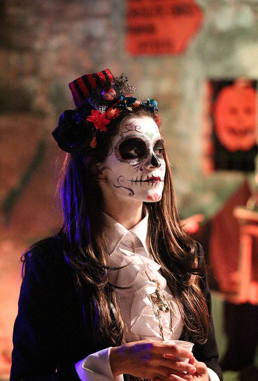 catrina dia de los muertos halloween chateau