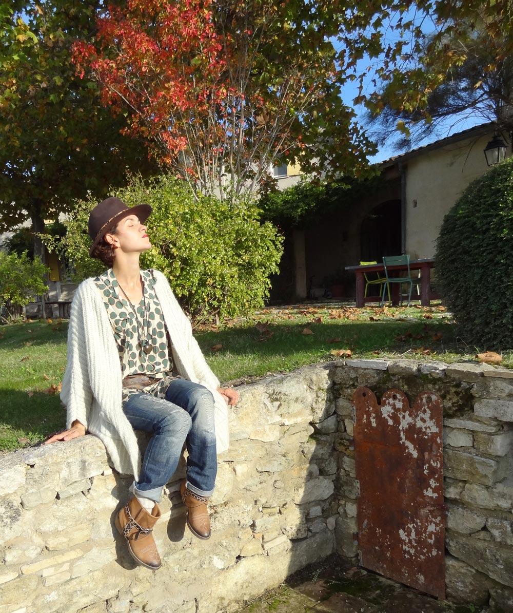 hobochic automne à la campagne