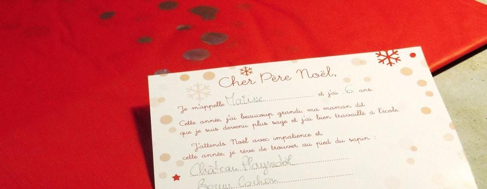 Lettre Au Pere Noel Volante.Ma Lettre Au Petit Papa Noel Le Blog Cash Pistache