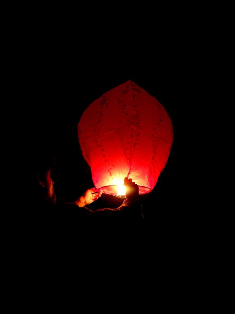 comment faire avec la lanterne volante skylantern