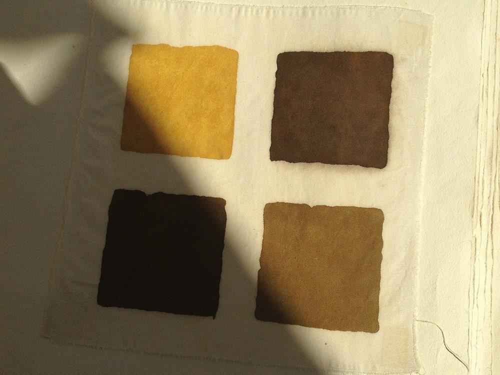 nuancier couleur garance