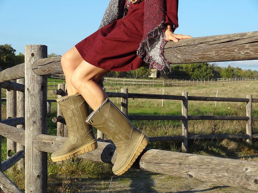 bottes de campagne pour une fille gypsy