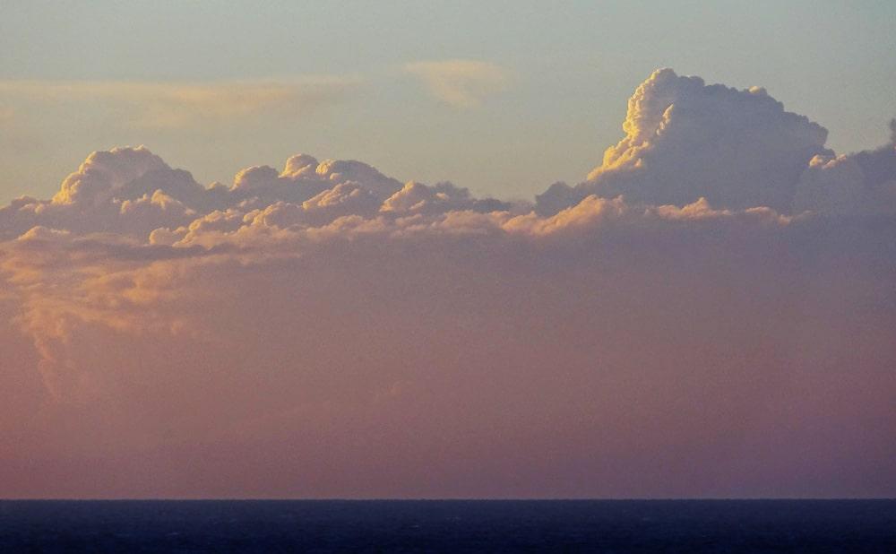 trucs à faire nuages ciel durant traversée
