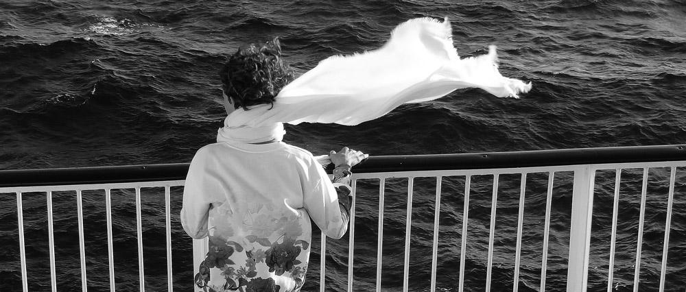 voyage ferry Corse sur le pont du bateau conseils