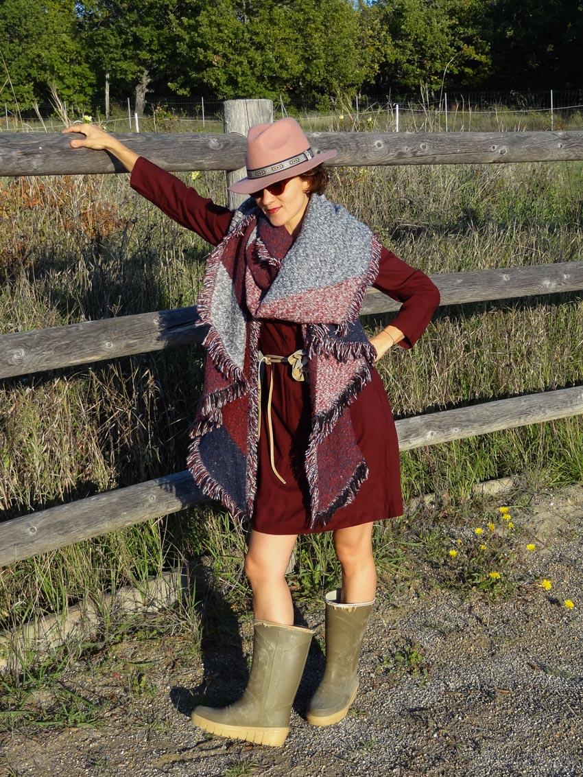 gypsy mode outfit pour une fille de ranch