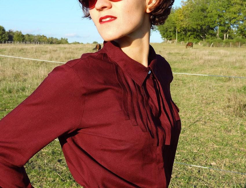 gypsy mode en robe dans le ranch