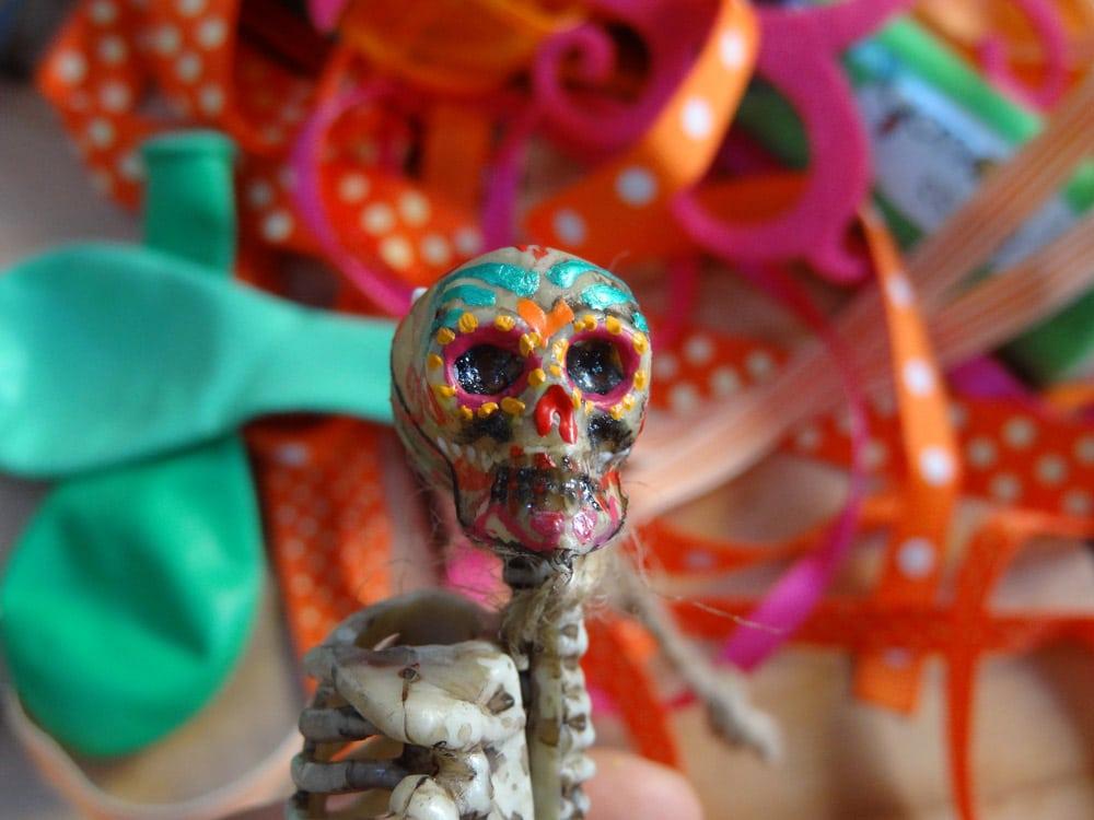 tuto squelette peinture halloween mort