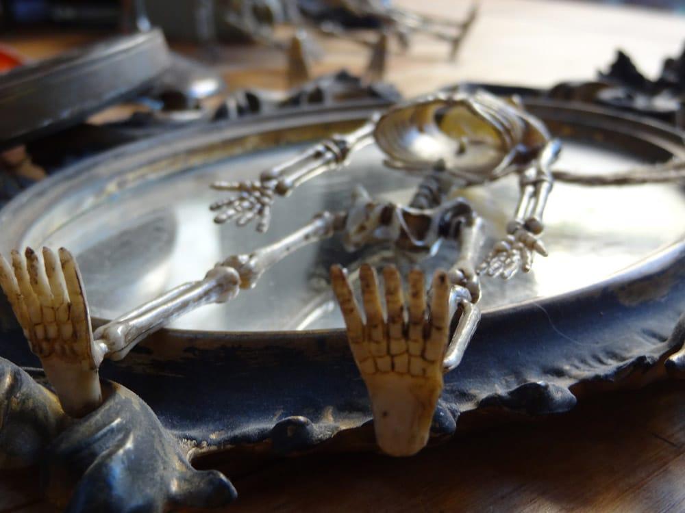 miroir squelette halloween dia de los muertos