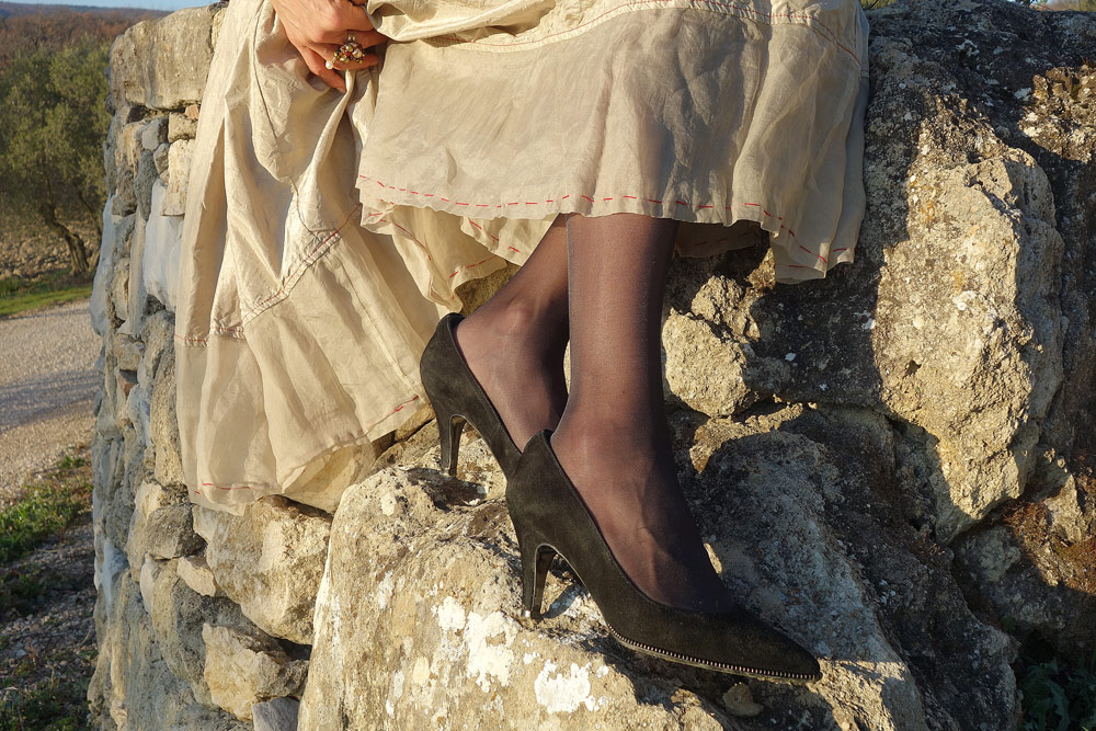 escarpins noirs ikks tenue de fete