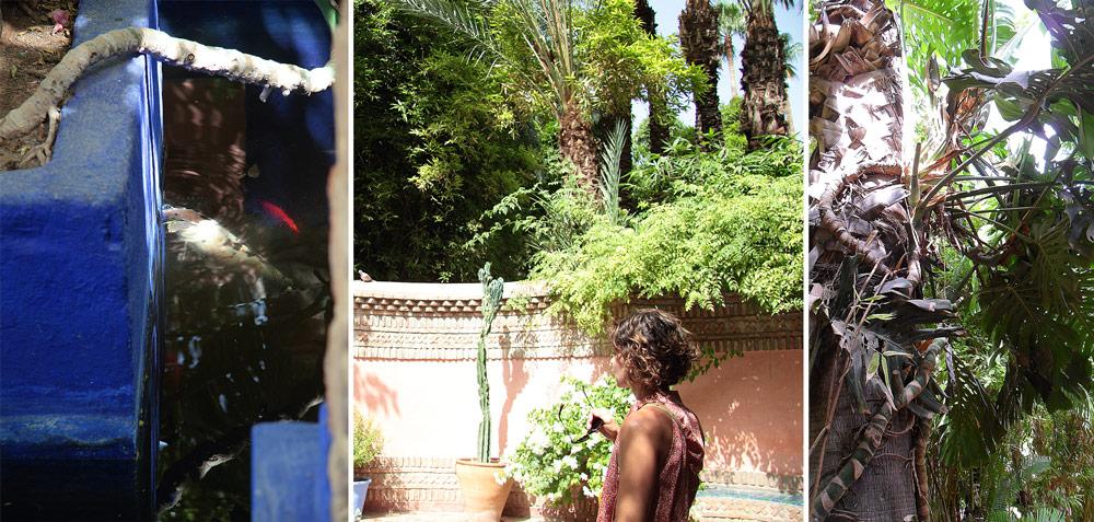 jardins majorelle yves st laurent stylisme Marrakech