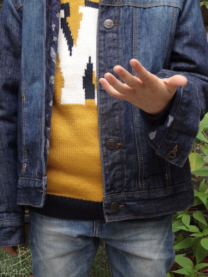 look enfant jeans mode kids
