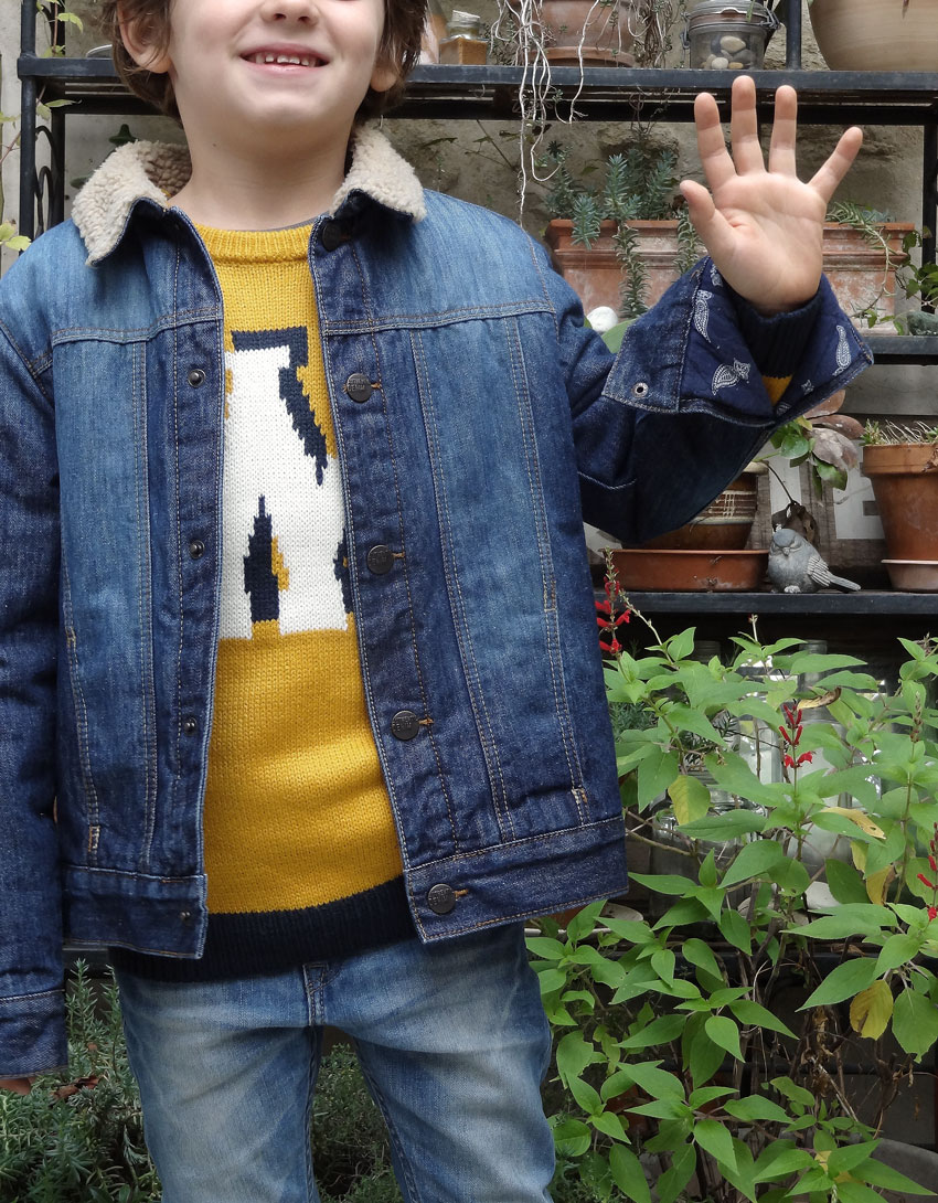 look enfant jeans mode tex