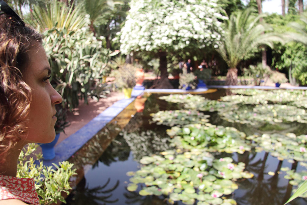 voyage Marrakech jardin Majorelle blog