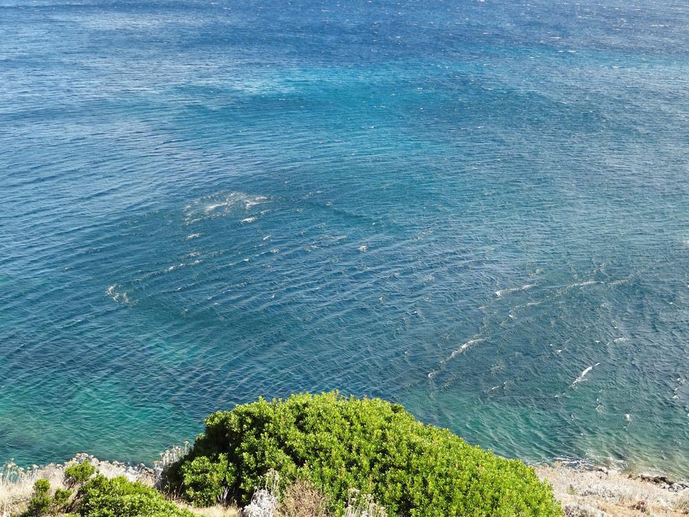 acces aux plages sauvages du cap corse trail en bord de mer