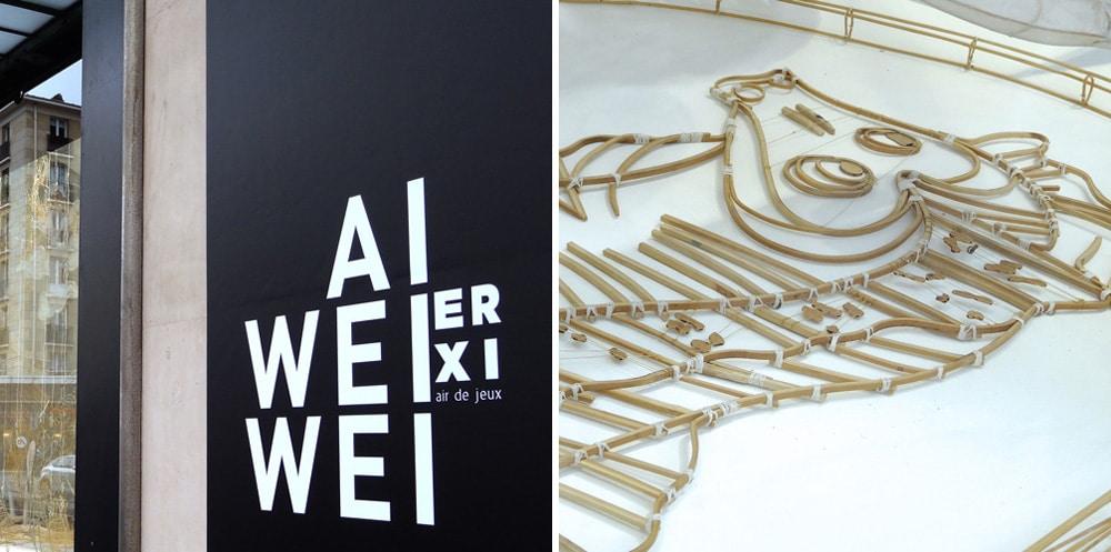 Le Bon Marché exposition de Ai Weiwei à Paris