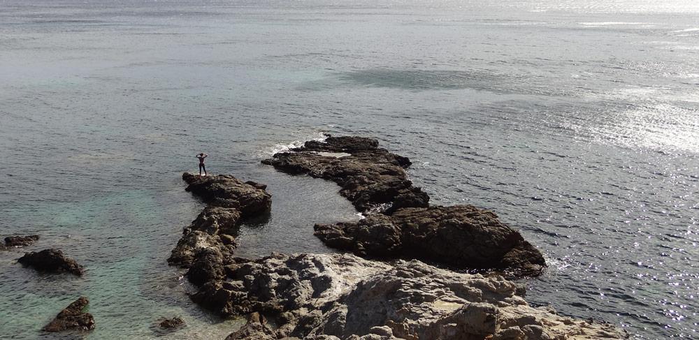 trail en bord de mer corse randonnee a faire