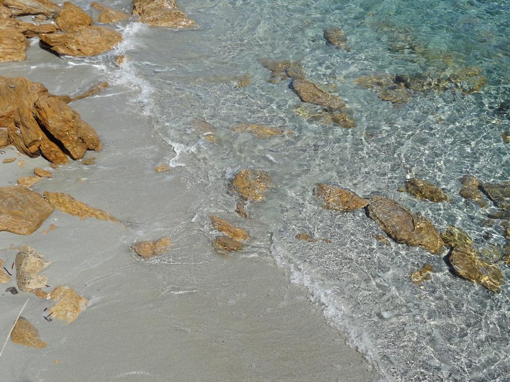 trail en bord de mer sur sable