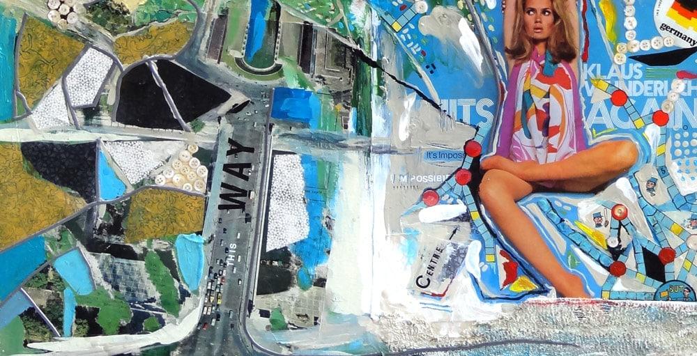 viedo painting d'une peinture en accéleré timelapse artiste vmgraph