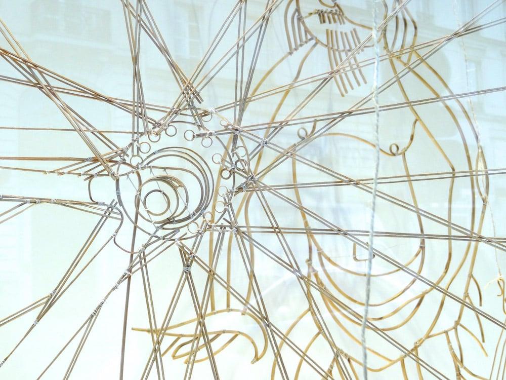 vitrine du bon marché, vie à Paris de l'art et culture