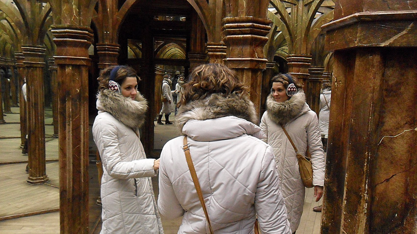 réussir son voyage à Prague attractions petrin labyrynthe des miroirs
