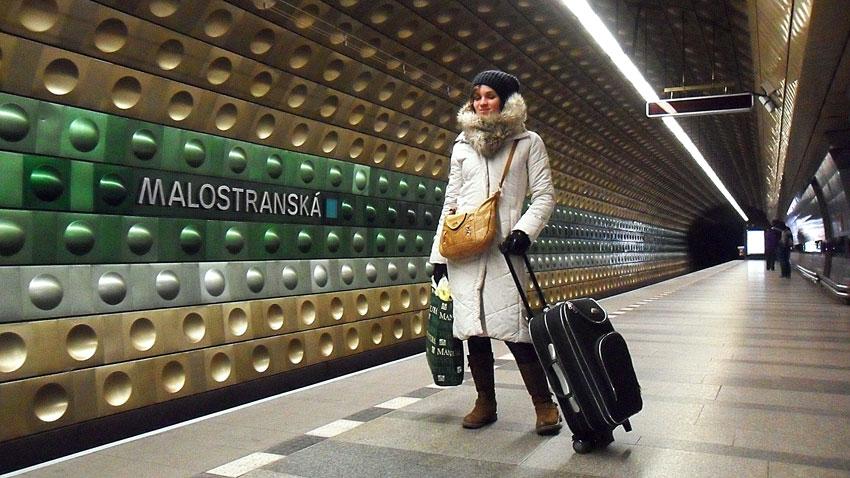 réussir son voyage à Prague 2 jours metro aeroport