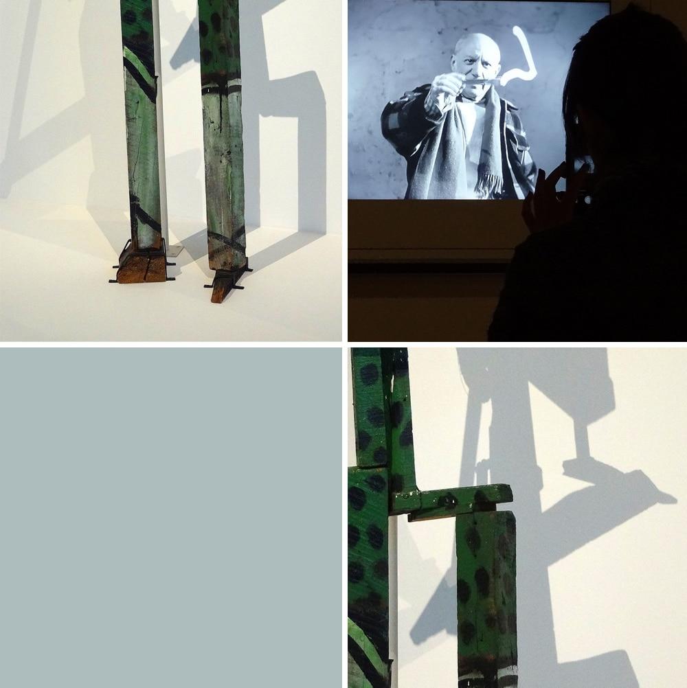 exposition Picasso au Mucem à Marseille assemblages