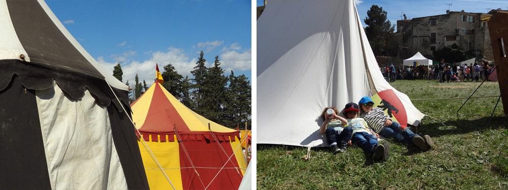 spectacles et ateliers pour enfants fête médiévale