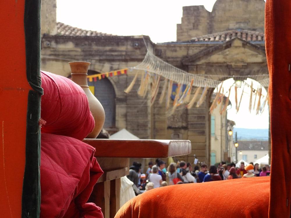 auberges spectacle repas medieval en Provence