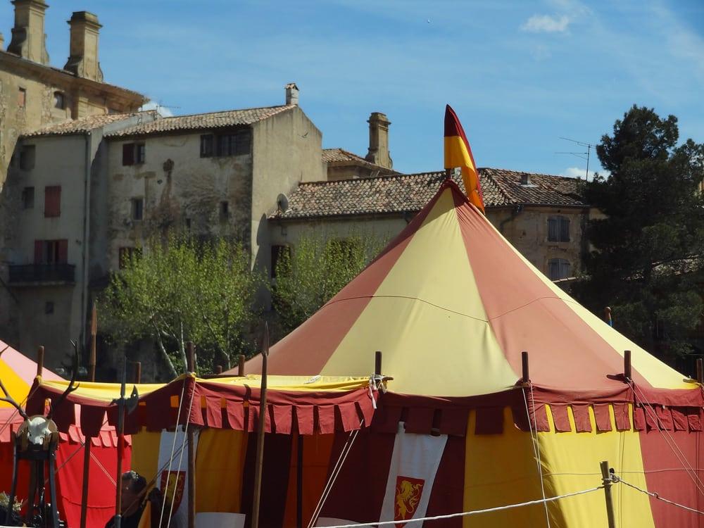 foire du Roy René chateau Peyrolles en Provence fête