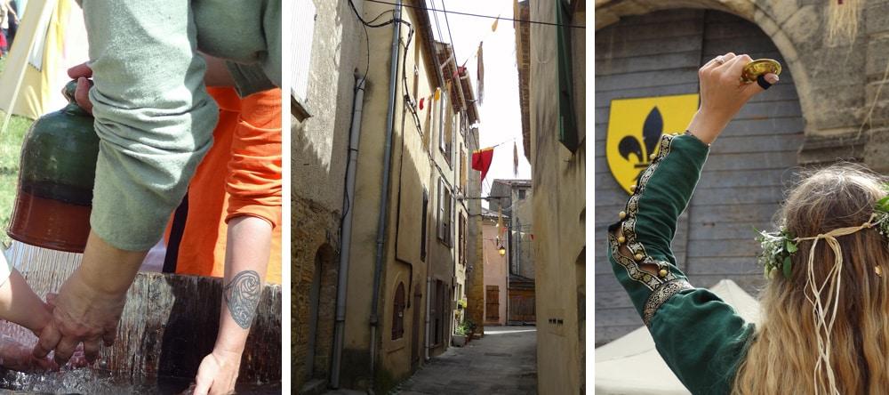 Fete medievale en Provence spectacles de rue danses art