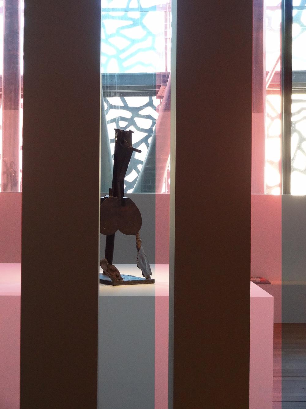 exposition Picasso à Marseille au mucem sculptures