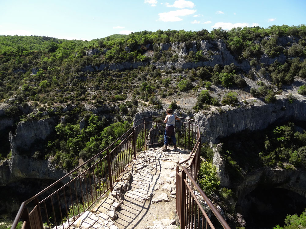 le plus beau belvedere des gorges d'Oppedette