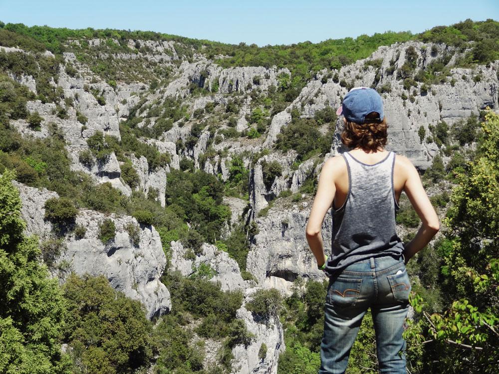 parc naturel du luberon gorges d'Oppedette