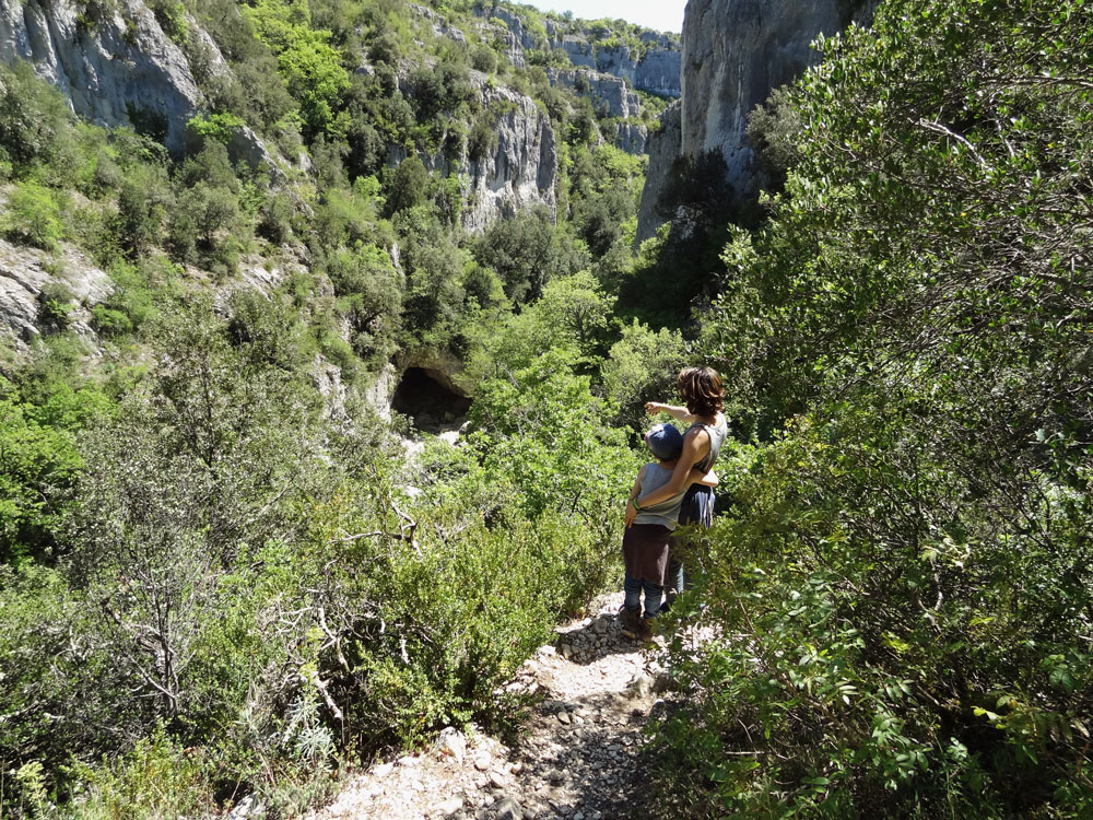 balades en provence gorges d'Oppedette
