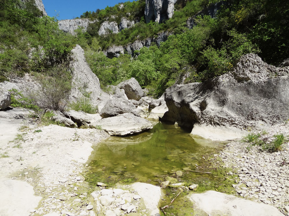 gorges d'Oppedette canyons de france