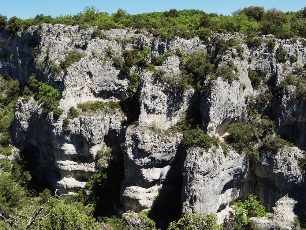 gorges d'Oppedette canyon