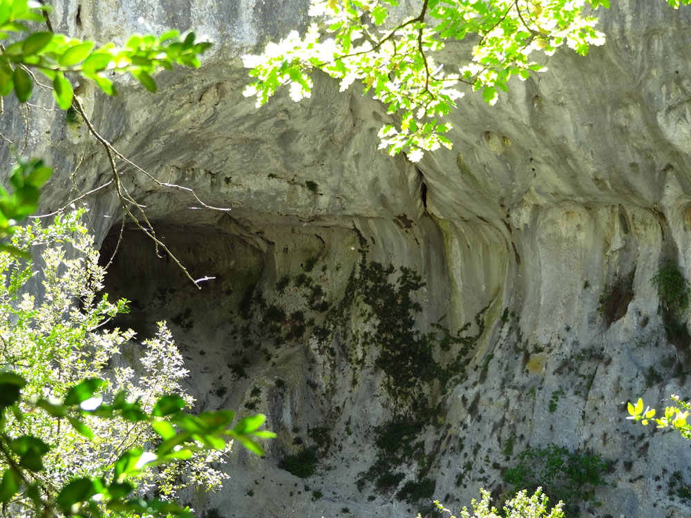 paysage des gorges d'Oppedette
