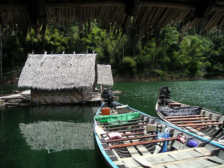 trek en thailande khao sok bateaux et jungle