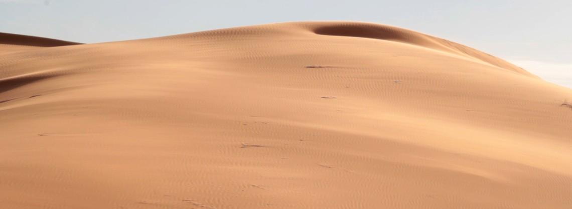 désert du Maroc Merzouga pour trekking dans le desert
