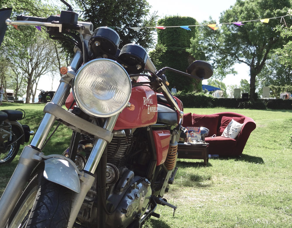 south vintage festival moto style