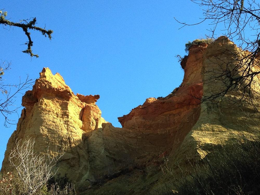 ocres de rustrel colorado provencal