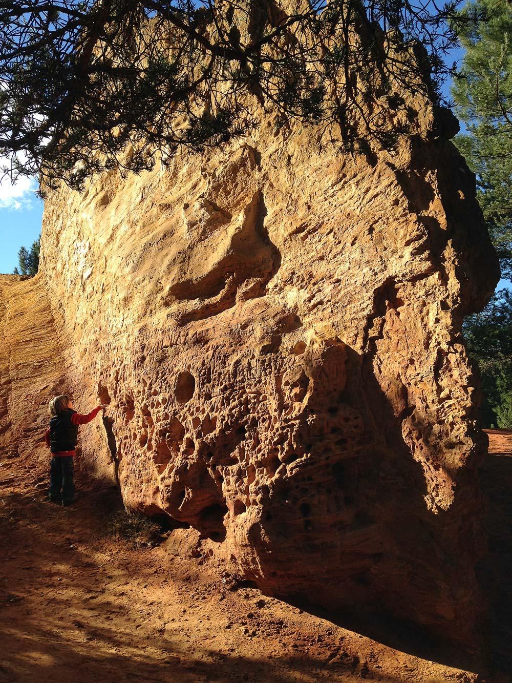 promenade en Provence roche rouge randonnée provencale